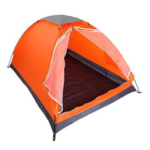 メタンヶ月目スケルトンYodo テント 2人用 キャンプテント 簡易テント 軽量テント コンパクト キャンプ 海 ツーリング 登山 アウトドア 運動会