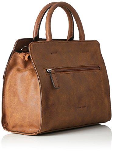 GERRY WEBER Summer Breeze Handbag Mhz - Bolso de mano Mujer Braun (Braun (cognac))