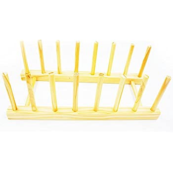Vertical plate rack display or storage for Vertical silverware organizer