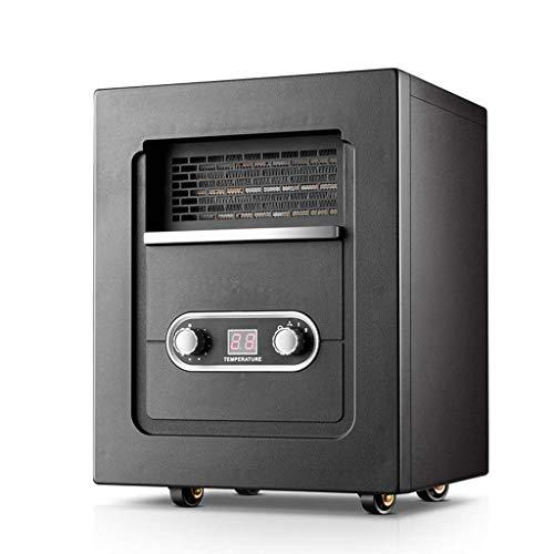 GaoFan Calentador eléctrico portátil, Estufa de Chimenea doméstica, silenciamiento de calefacción de 2000W para la...