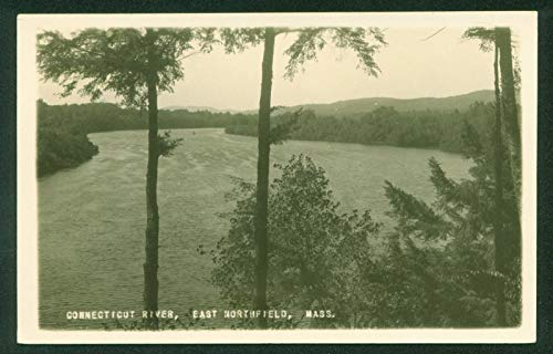 Real Photo of Connecticut River East Northfield Massachusetts MA RPPC Postcard