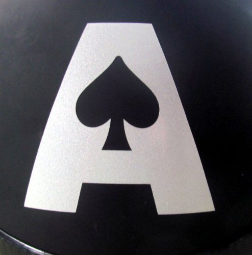 - Reflective Ace of Spades - 3