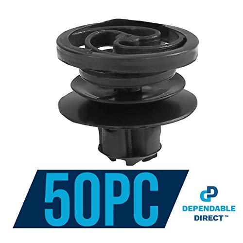 - Dependable Direct (50 Piece) Door Trim Panel Retainer Clip for VW - OEM#: 3B0-868-243