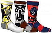 Boy's Transformers 3-Pack Crew Socks (Shoe