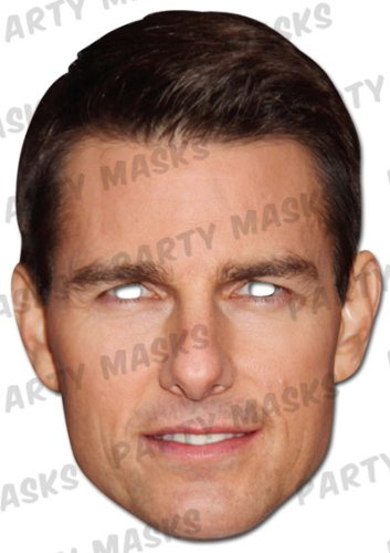 Tom Cruise Face Mask (single Card) (Tom Cruise Best Of)