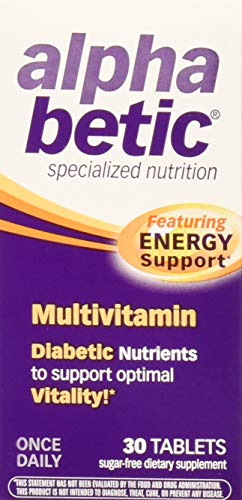 Abkit Vitamins - Alpha Betic Multivitamin Plus Extended Energy 30 tablets