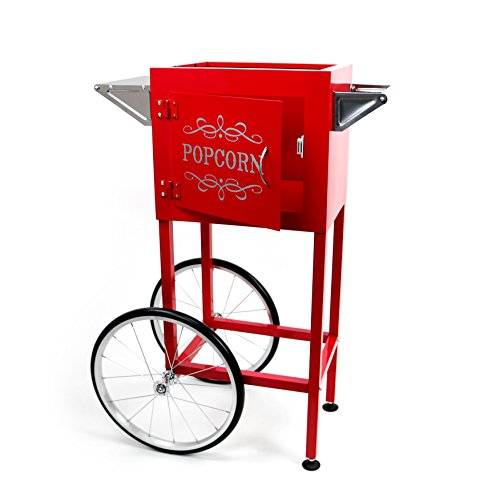 red popcorn cart - 8