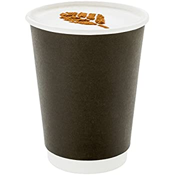 Amazon Com 500 Ct Disposable Black 12 Oz Hot Beverage