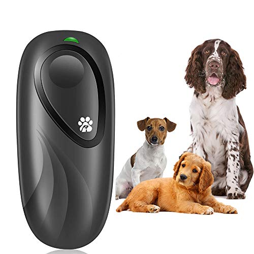 Anti Barking Device for Dog, 2 in 1Dog Training Aid Adjustable Frequency Ultrasonic Dog Bark Deterrent,16.4 Ft Effective…