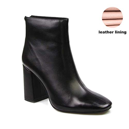 For What Reason 2018 Rubber Riding Shoes Women's Winter Boots Women Boots High Heels,Black,5 (Best Fifa 17 Cards)