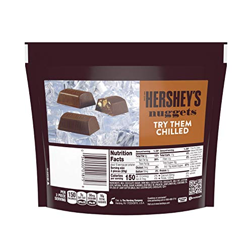 Hershey's Nuggets Milk Chocolate with Toffee and Almonds Candy, 10.2 Ounce