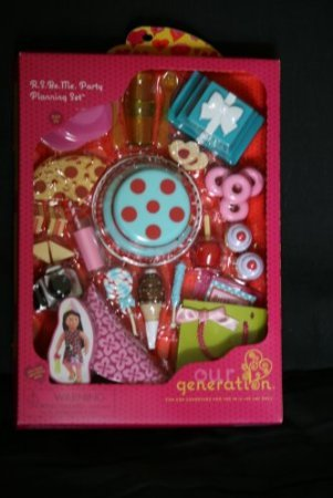 Battat Our Generation Party Planning Birthday Accessories Se