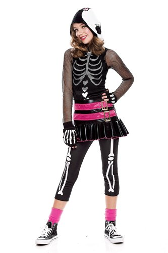 Paper Magic Group Skelehearted Costume,Large -
