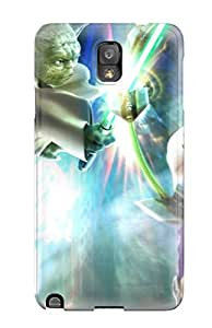 Case Cover Fantasy Girl Yoda Bright Light Star Warrs Cartoon Paint Book Novels Anime Other/ Fashionable Case For Galaxy Note 3