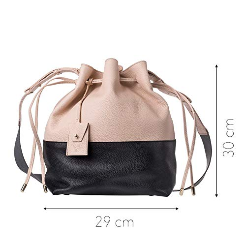One black Women's Shoulder Women's black Shoulder DuDu One Bag Black Black DuDu Bag Size qAPnHTqEa