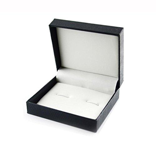 Binmer(TM)Present Cufflinks Lavalier Set Gift Box Souvenir Wedding Jewelry Gift Box Gift Wrap Boxes