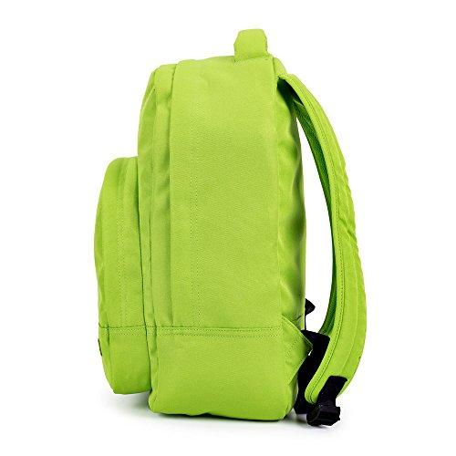 Lässige Travel Bolsa Bolso Mujeres Messenger Portátil Hombre Verde Pocket Mochila Fashion Correa Colorful Poliéster Caison Negro qPU7q
