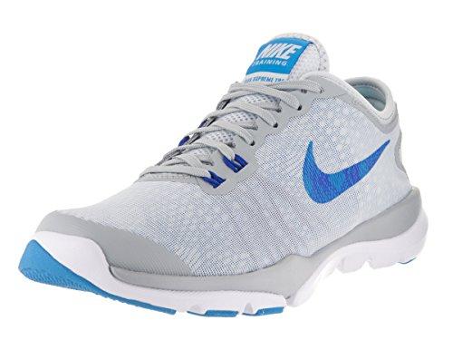 Nike 819027-002, Zapatillas de Deporte Mujer Gris (Pure Platinum / Blue Glow-Wolf Grey)