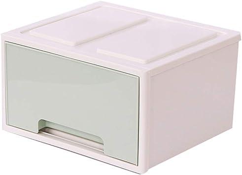 Almacenamiento De Oficina Tipo De Caja del Cajón Pequeño Mini Escritorio En El Acabado De La Caja Plástica Ponga Cuidado De La Piel Cosméticos Caja (Color : Green): Amazon.es: Electrónica