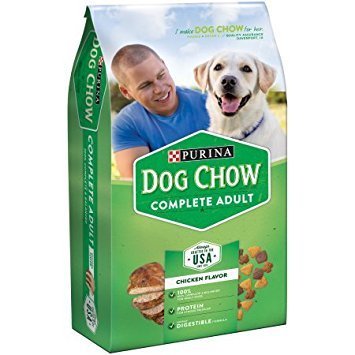 Purina Dog Chow Dry Dog Food, Adult Complete, 4.4-Pound bag, (Pack of 2)