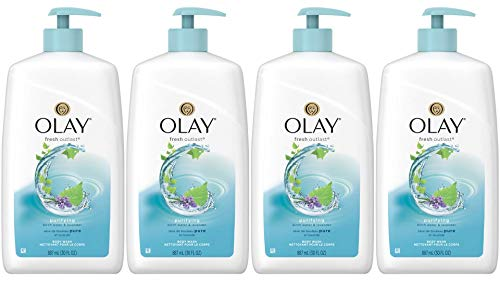 Olay Fresh Outlast Purifying Birch & Lavender Body Wash, 30.0 Ounce (Pack of -