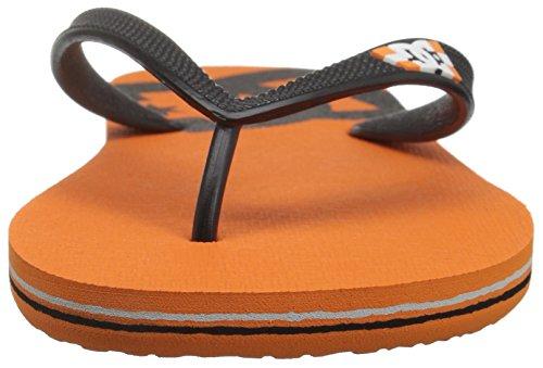 DC Herren Spray Sandale Orange / Schwarz