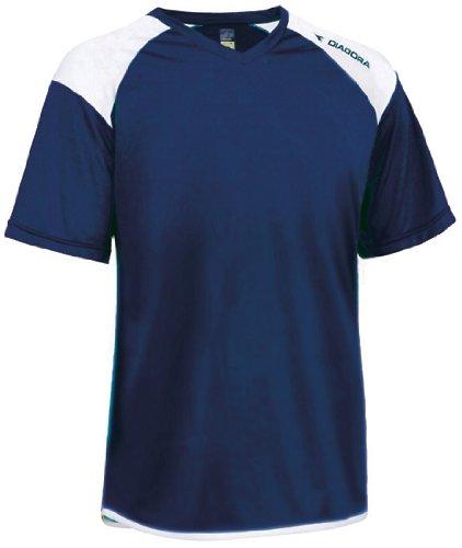 - Diadora Grinta Soccer Jersey Shirt, Navy, Small