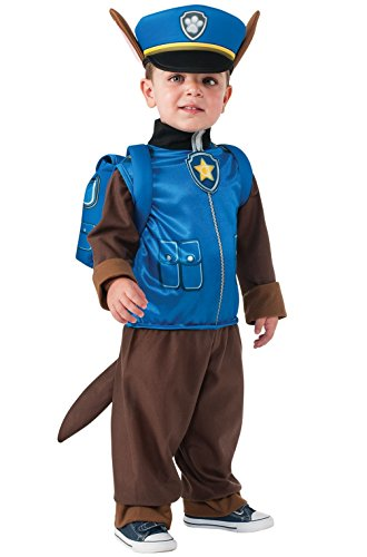 Mememall Fashion PAW Patrol Chase Child Costume (Plush Cow Mascot Costume)