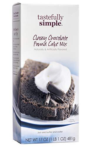 Tastefully Simple Classy Chocolate Pound Cake Mix - 17 oz