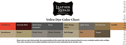 Professional Automotive Volvo Leather and Vinyl Dye Kit (16oz, Currant Red) by Luxury Leather Repair (Image #1)