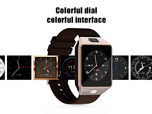Amazon.com: 1.54 inch 3G WiFi QW09 Smart Watch MTK6572 1.2 ...