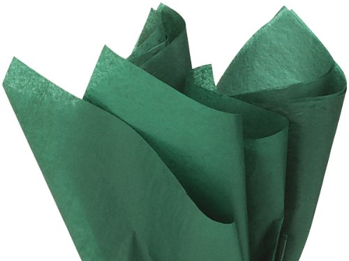Forest Green Dark Tissue Paper 20 Inch X 30 Inch - 48 Sheet ()