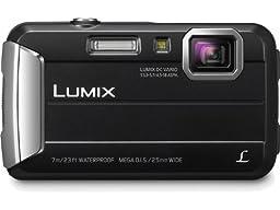 Panasonic Lumix DMC-TS25 16.1 MP Tough Digital Camera with 8x Intelligent Zoom (Black)