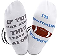 Cowboys Football Game Gift Fans Sock Funny Birthday Gifts American Football Game Day