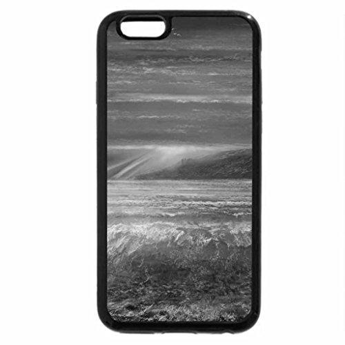 iPhone 6S Plus Case, iPhone 6 Plus Case (Black & White) - Isle Sunset