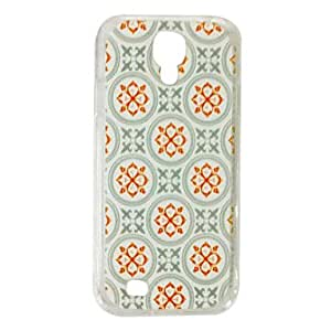 Zaki-Special Design Pattern Plastic Hard Case for Samsung S4 I9500
