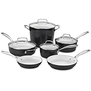 Amazon Com Cuisinart Elements 10piece Ceramica Polar