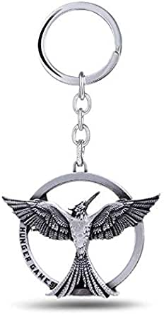 The Hunger Games Catching Fire Bird Metal Keychain
