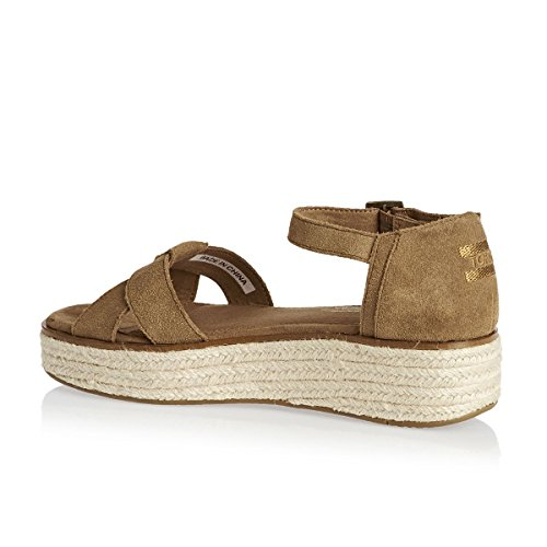 Toms Womens Chambray Wedge Di Toms Delle Donne Del Toms