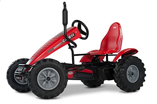 Case-IH BFR-3 Gear Pedal Go Kart Red - BERG
