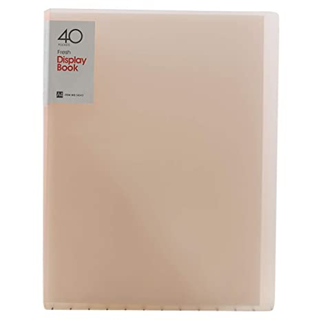 Amazon.com: Ozzptuu - Carpeta de 40 bolsillos de PVC ...
