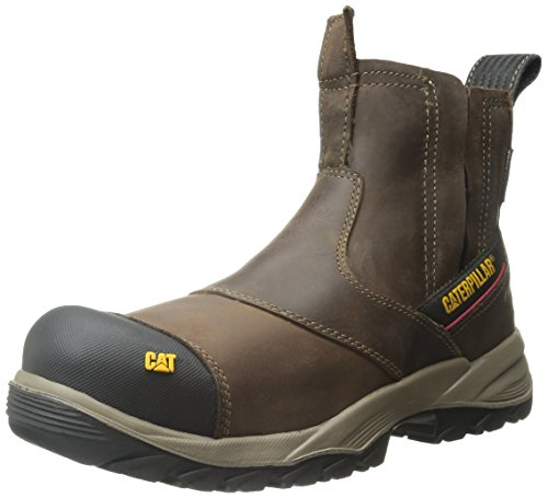 Caterpillar Men's Jointer Waterproof Comp Toe Work Boot, Clay, 10.5 M US (Best Jointer For Small Shop)