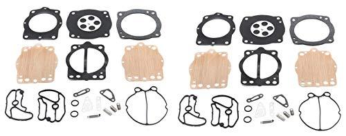 Kawasaki Keihin Twin Carb Carburetor Rebuild Kit STX SXI Pro SS Super Sport 750