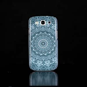 SHOUJIKE Aztec Mandala Pattern Glow in the Dark Hard Case for Samsung Galaxy S3 I9300