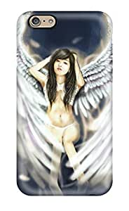 Awesome TjErdxT623MTccd Abikjack Defender Tpu Hard Case Cover For Iphone 6- Angel
