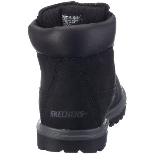 Blk Skechers Halbschaft nbsp;Lumberjack Stiefel Mecca Jungen Schwarz xvwPRYgq
