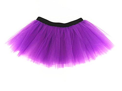 Ballet Costumes Adults (Dreamdanceworks Running Skirt Teen or Adult Size Princess Costume Ballet Rave Dance or Race Tutu (Purple))