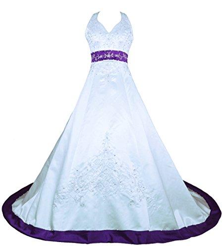Embroidery Wedding Dress Amazon Com