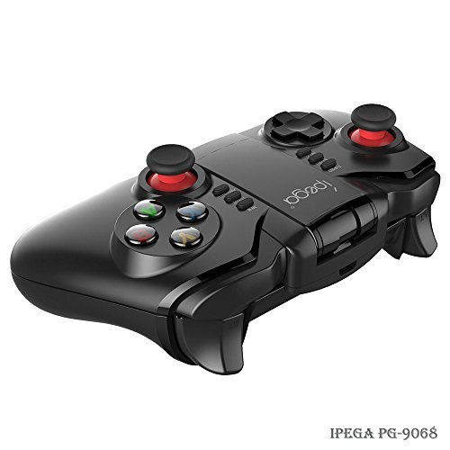 Android Bluetooth Gamepad - iPega PG-9068 Wireless Game Controller Joystick for Smartphone, Google Nokia HTC Sony Moto LG Xiaomi Oppo Huawei OnePlus, Samsung Gear VR Headset, TV Box and Windows PC