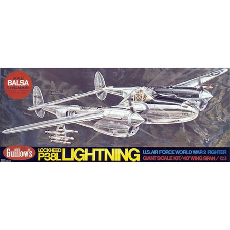 P-38 Lightning Model Airplane - 1